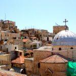 Israel - Vue sur la vieille ville de Jérusalem