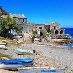 Corse - Village en pierres et petit port de Pino, Cap Corse