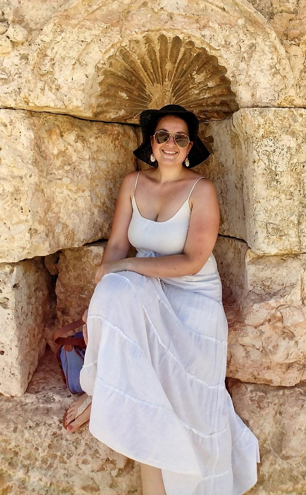 Jordanie - Sur le site romain de Jerash