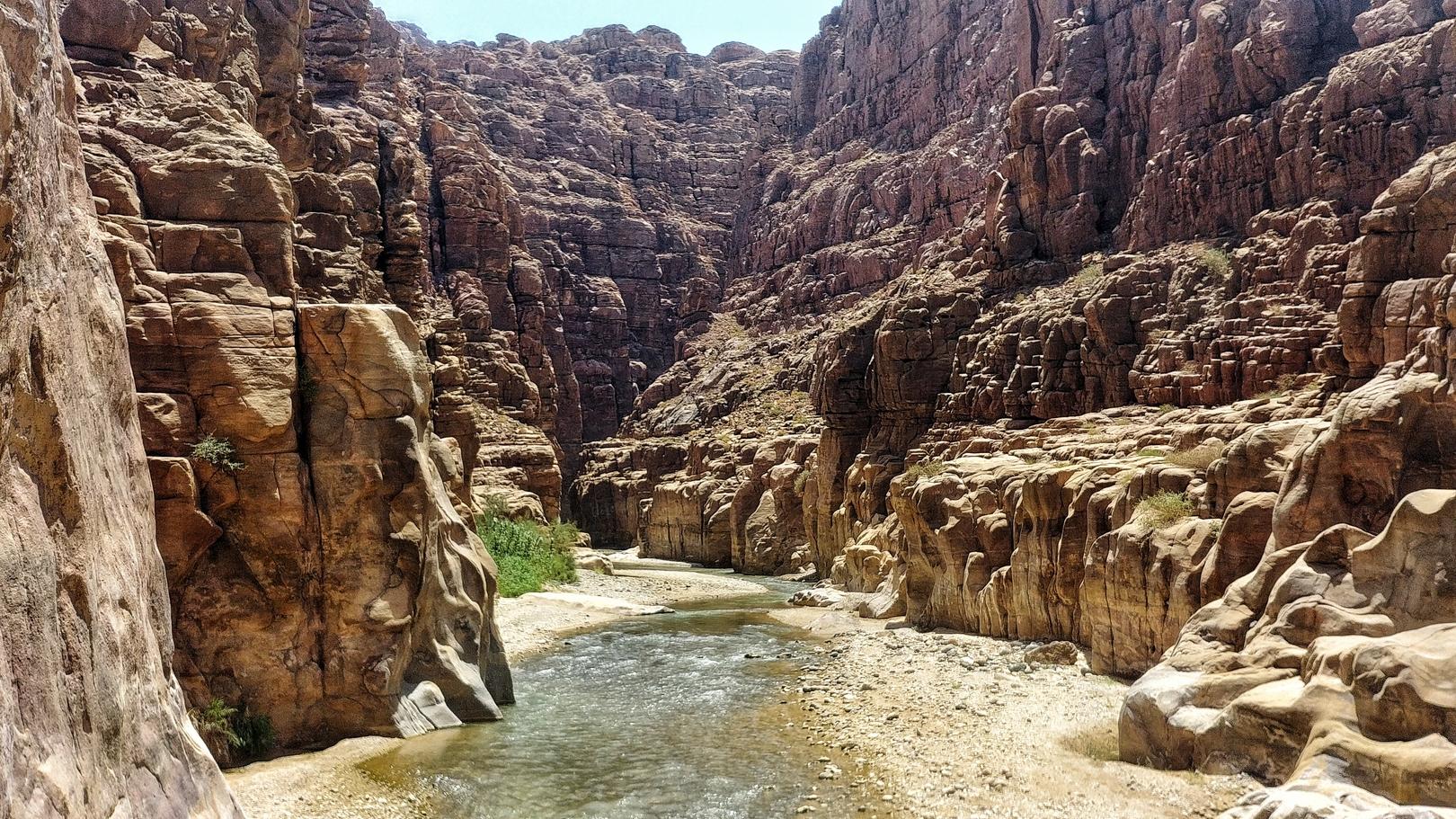 Jordanie - Canyoning dans le Wadi Mujib