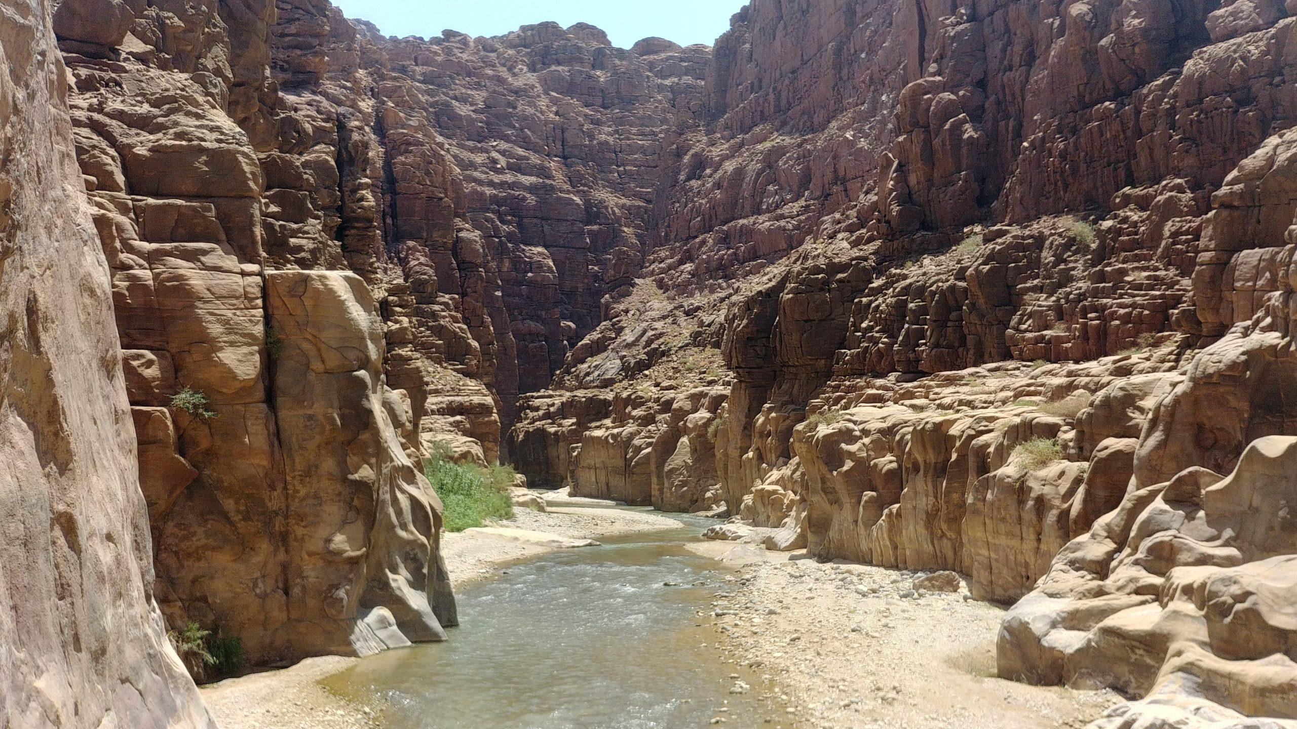 Jordanie - Randonnée aquatique canyoning dans le Wadi Mujib
