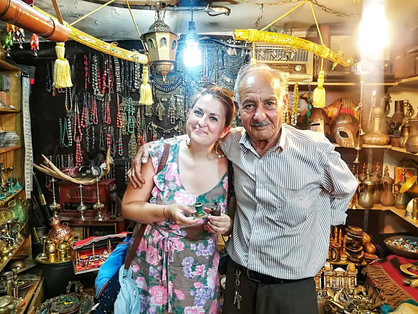 Jordanie - rencontre avec un antiquaire à Amman