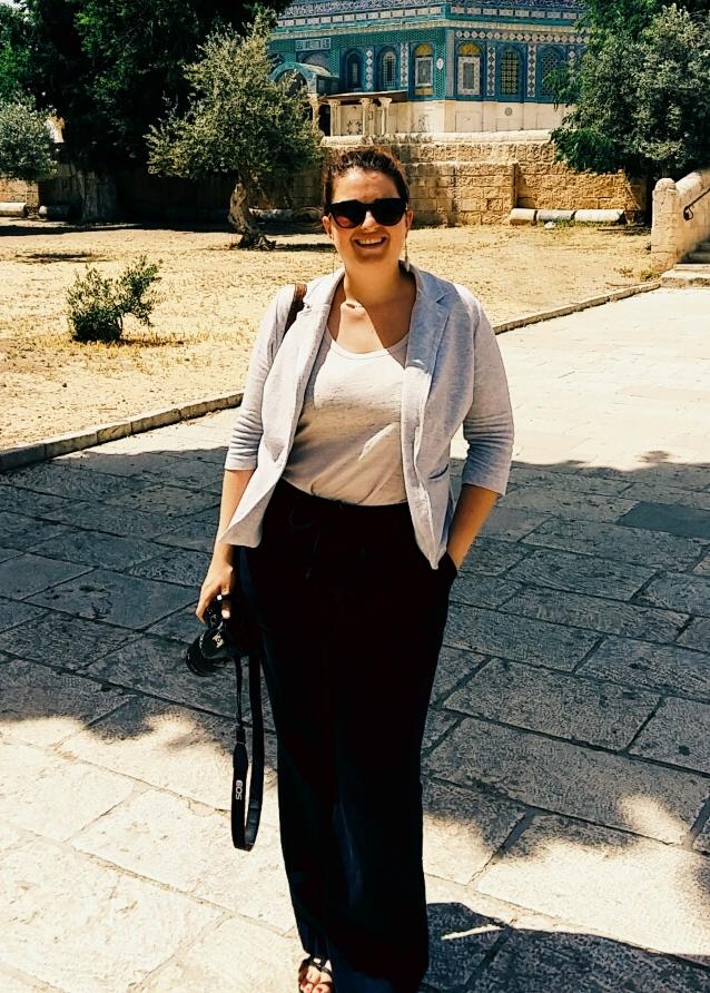 Contact - Leslie à Jérusalem