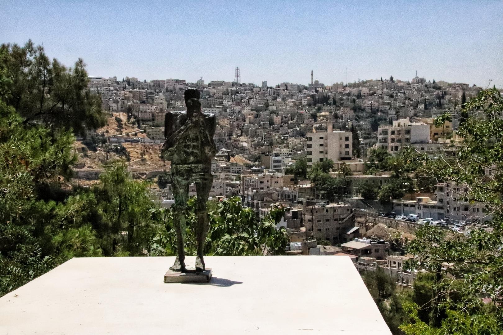 Jordanie - Vue sur Amman de Darat al Funnun