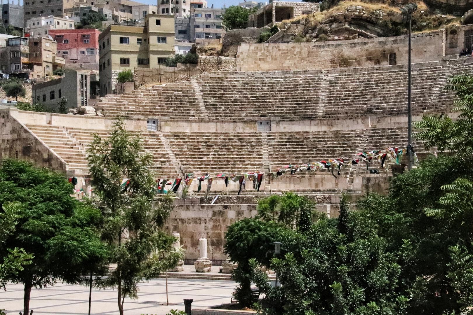 Jordanie - Amman et son théâtre romain
