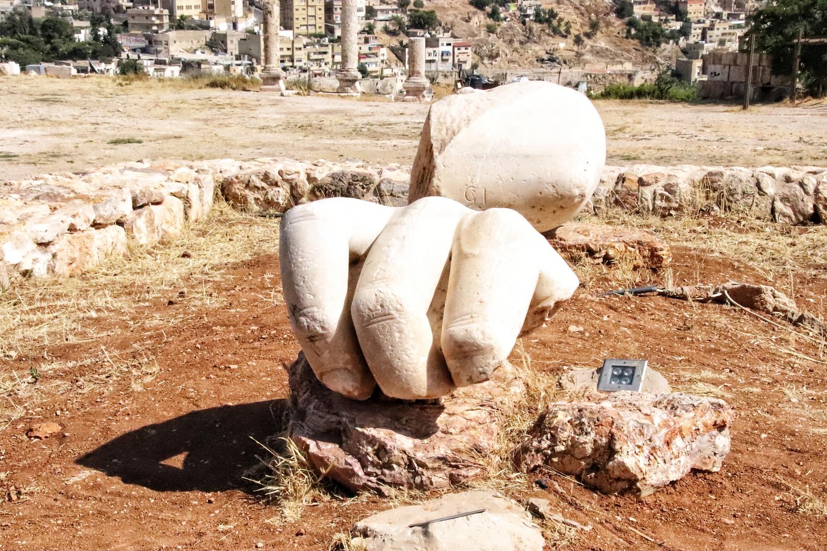 Jordanie - La citadelle d'Amman (Jabal al-Qal'a)