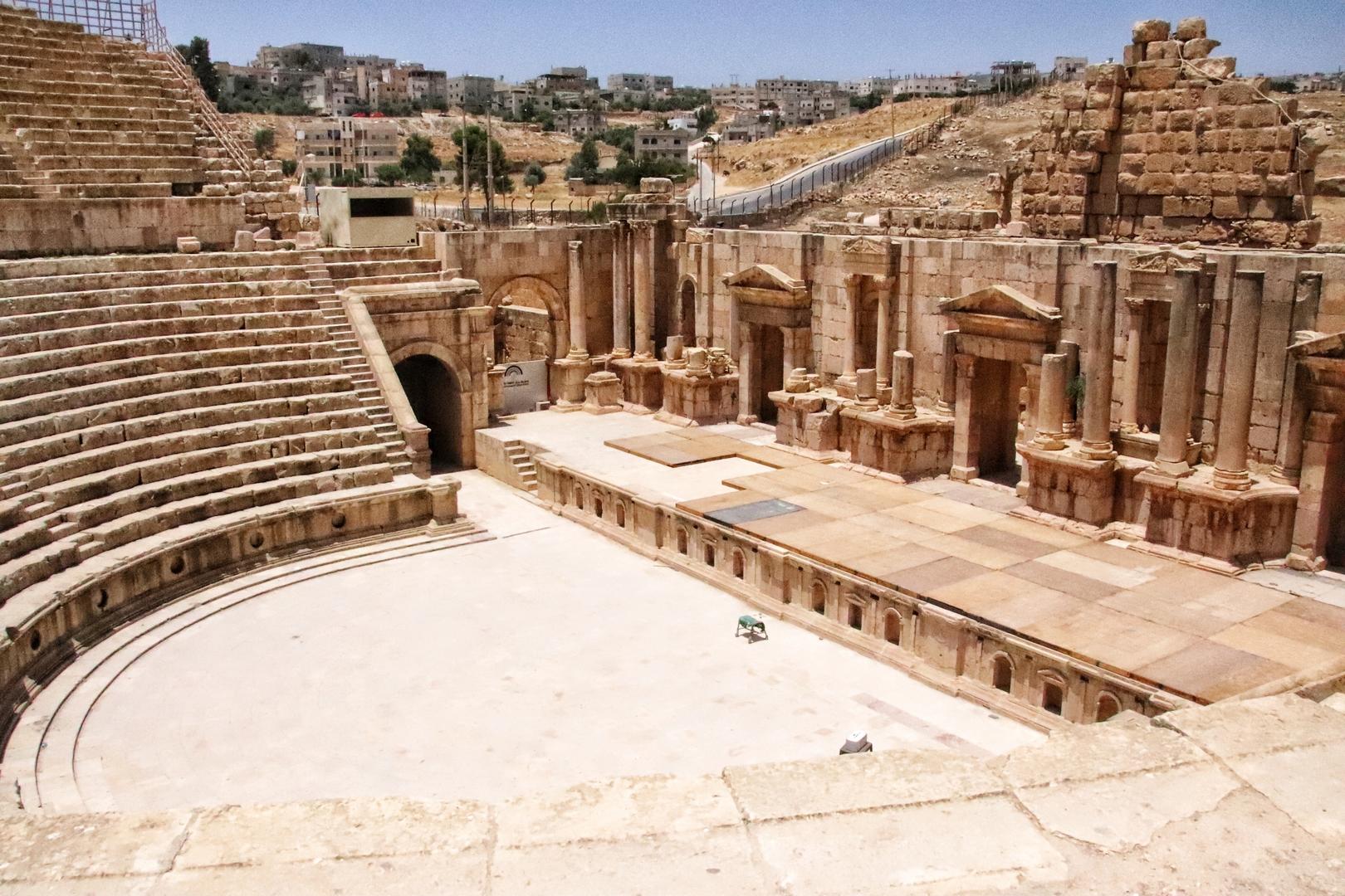 Jordanie - Théâtre romain à Jerash