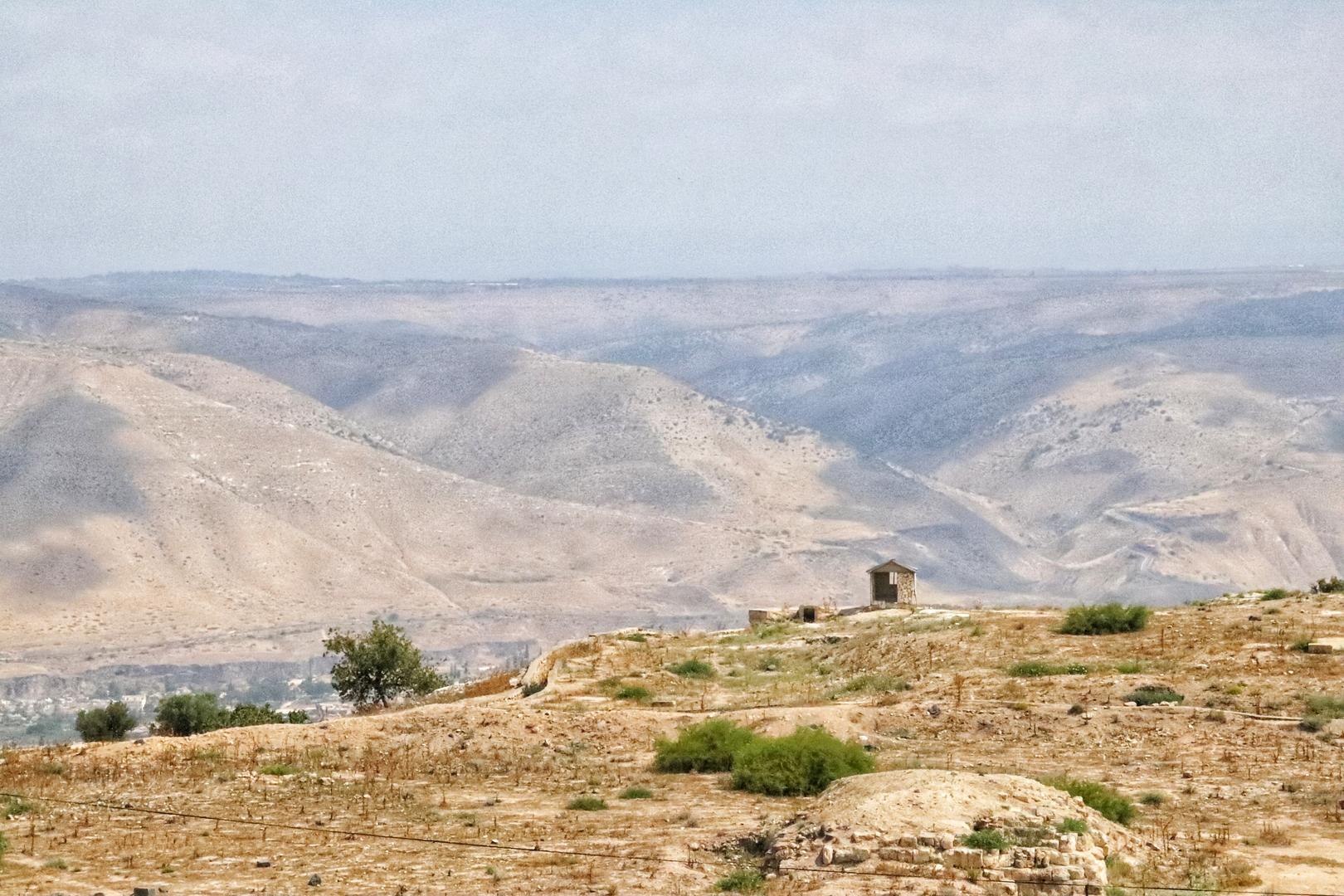 Jordanie - Vue du site romain de Umm Qais