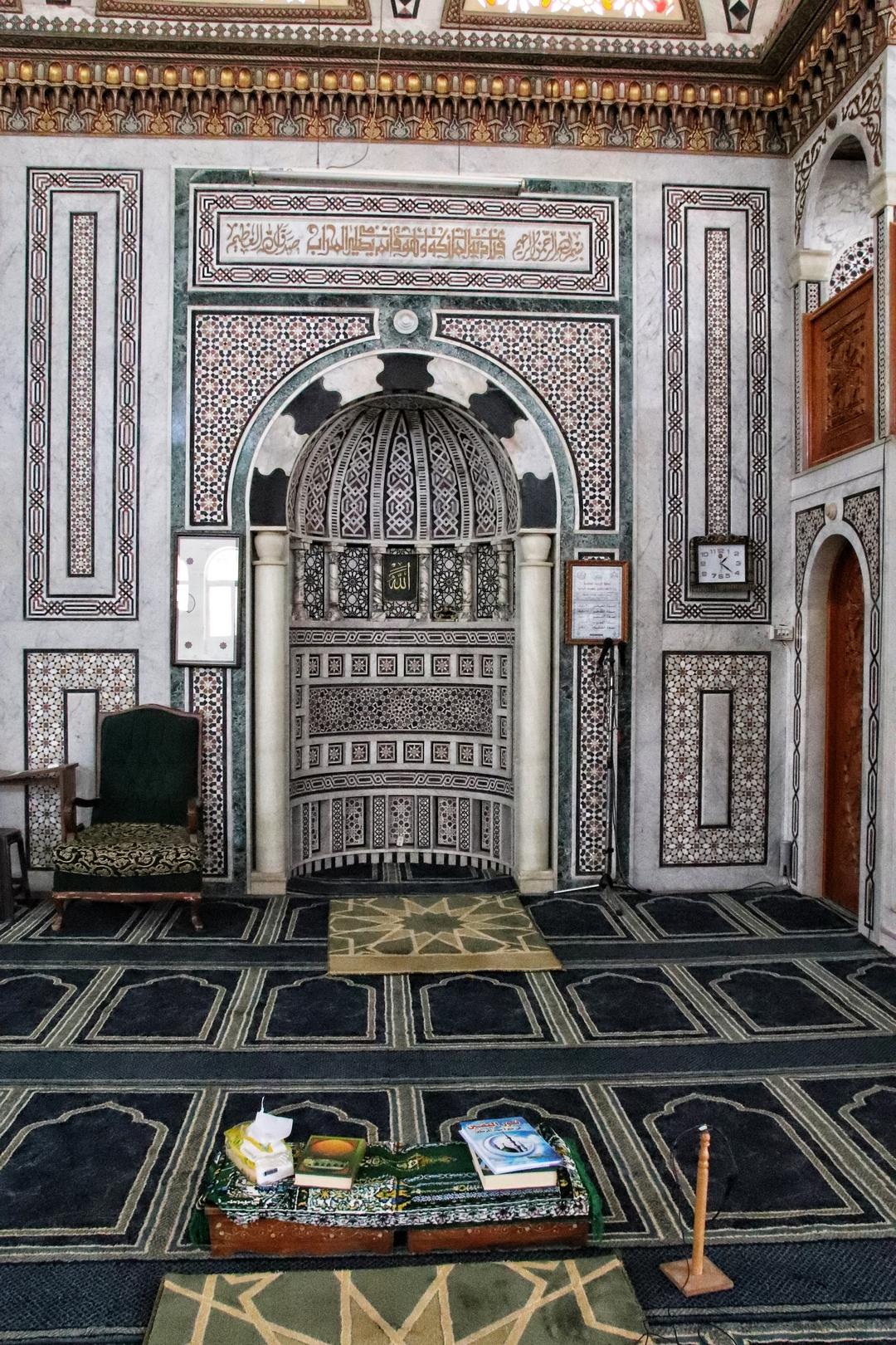 Jordanie - Visite de la mosquée sur les hauteurs de Salt