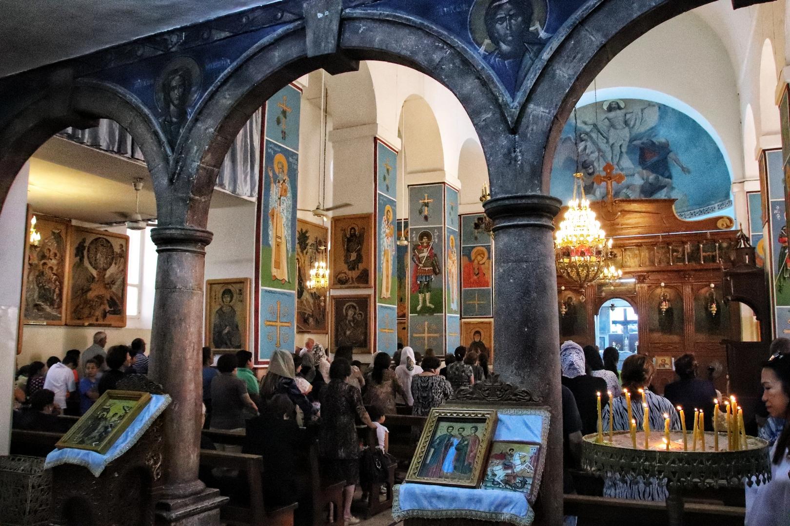 Jordanie - Eglise Saint Georges à Madaba