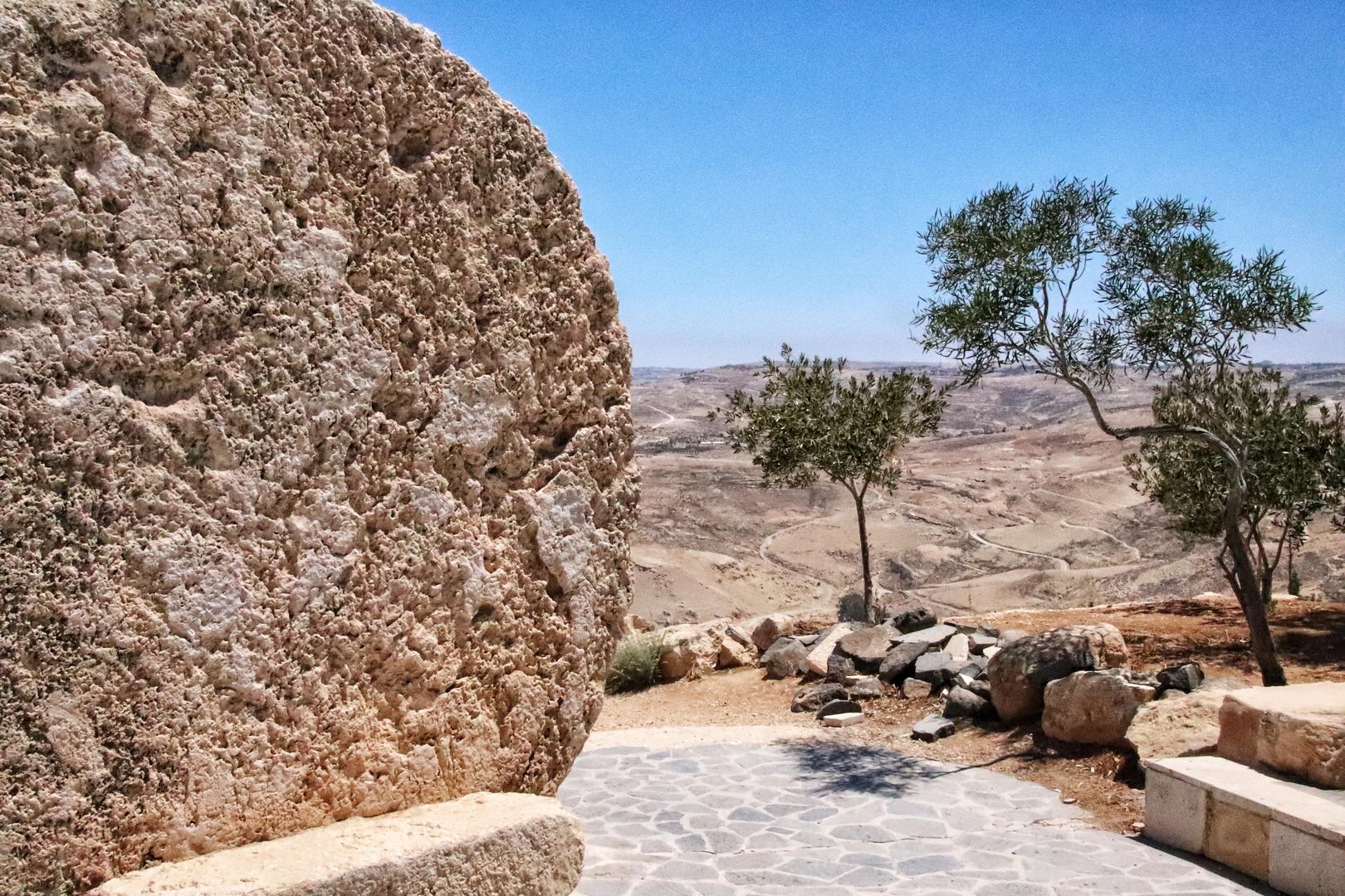 Jordanie - Vue du haut du Mont Nebo