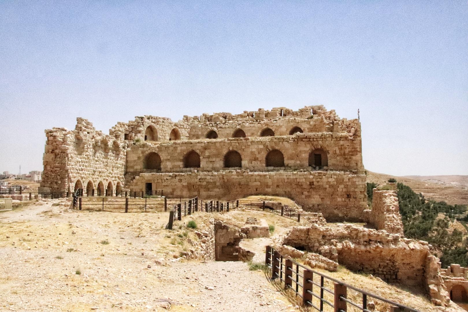 Jordanie - Visite du château de Kerak