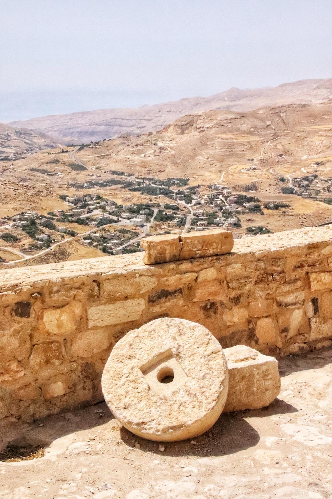 Jordanie - Vue du château de Kerak