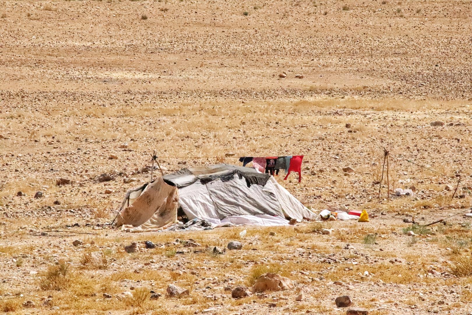 Jordanie - Campement bédouin
