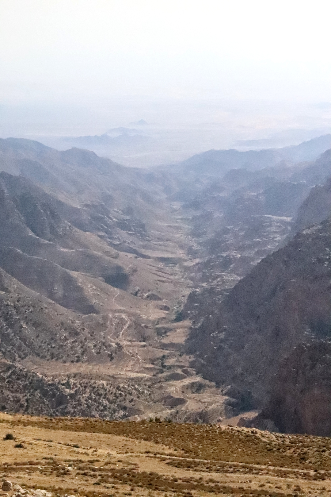Jordanie - La vallée de Dana
