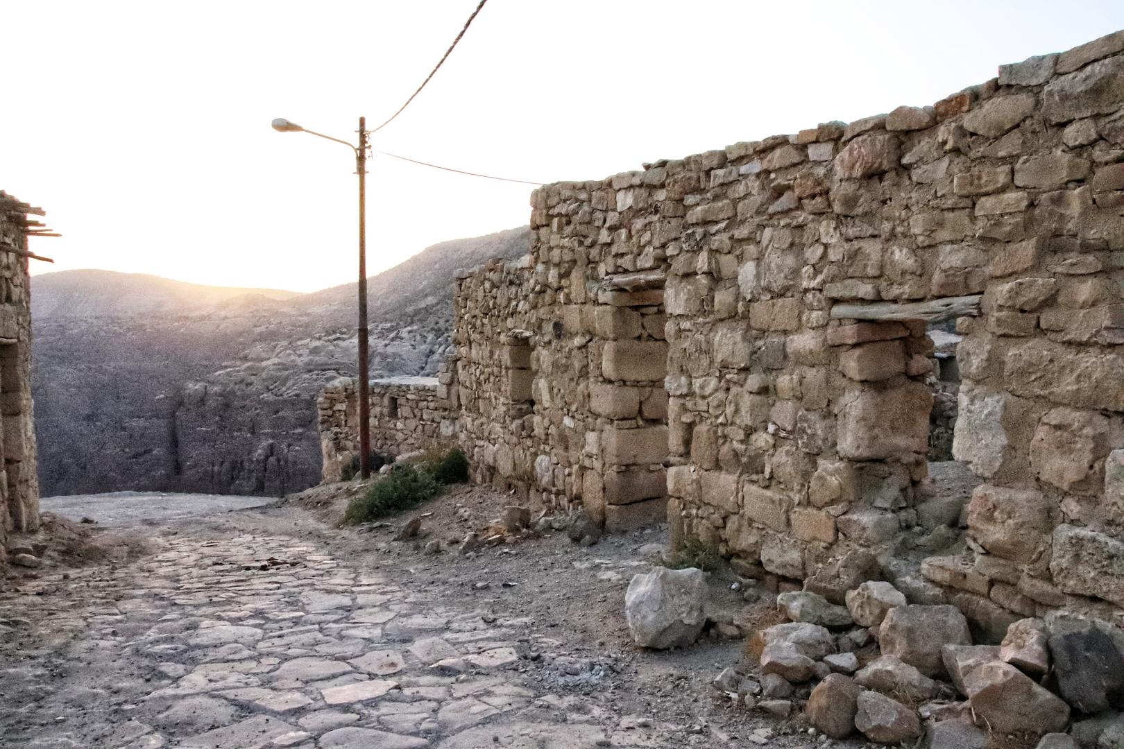 Jordanie - Petit village de Dana