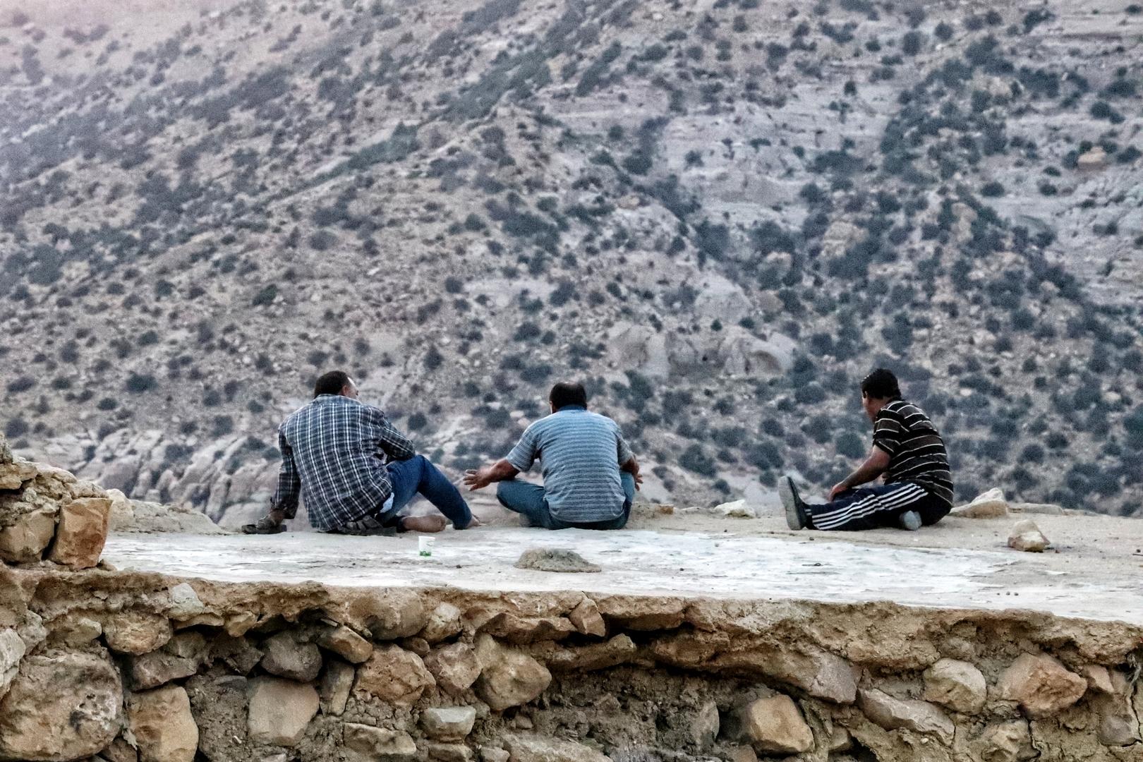 Jordanie - On refait le monde au petit village de Dana
