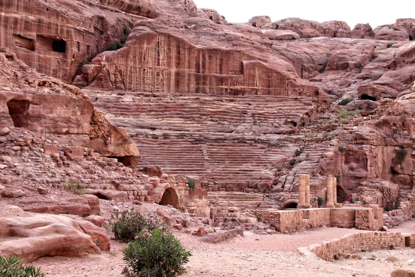 Jordanie - Théâtre romain du site de Petra