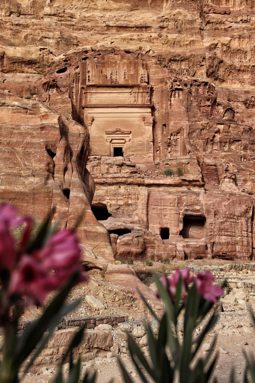 Jordanie - Tombeau sur le site de Petra