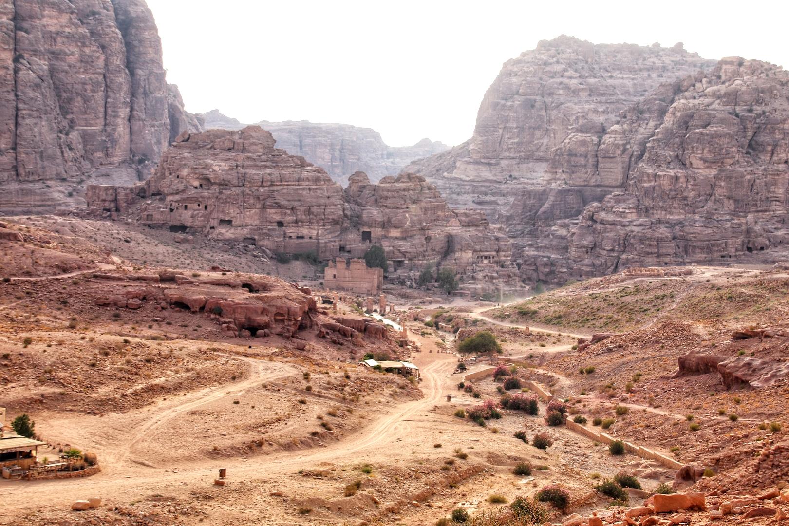 Jordanie - Les tombes royales de Petra