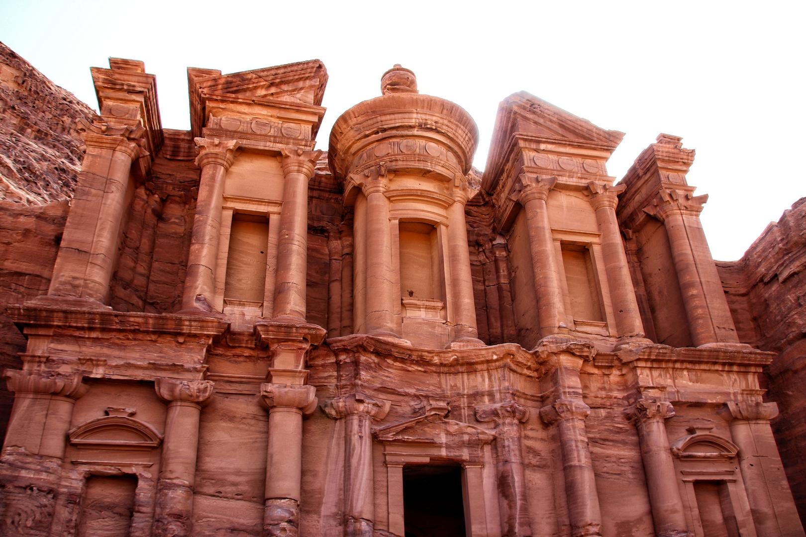 Jordanie - Découverte du Monastère El Deir sur le site de Petra