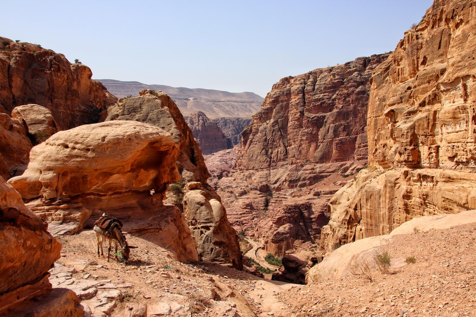 Jordanie - Randonnée sur le site de Petra
