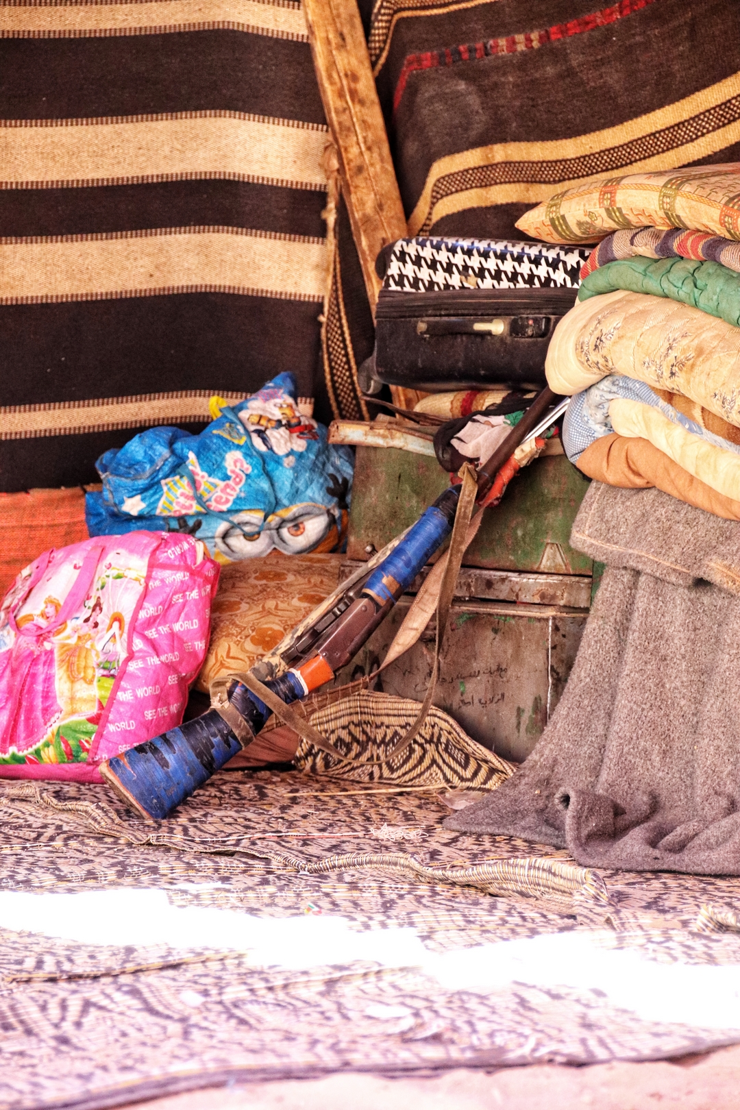 Jordanie - Campement bédouin dans le désert de Wadi Rum