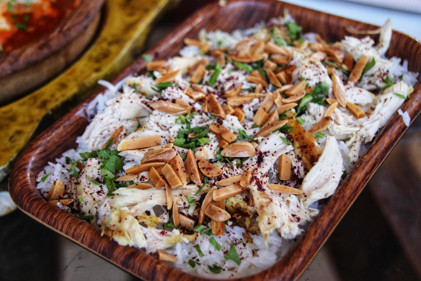 Jordanie - Chicken fatteh, plat de la cuisine jordanienne