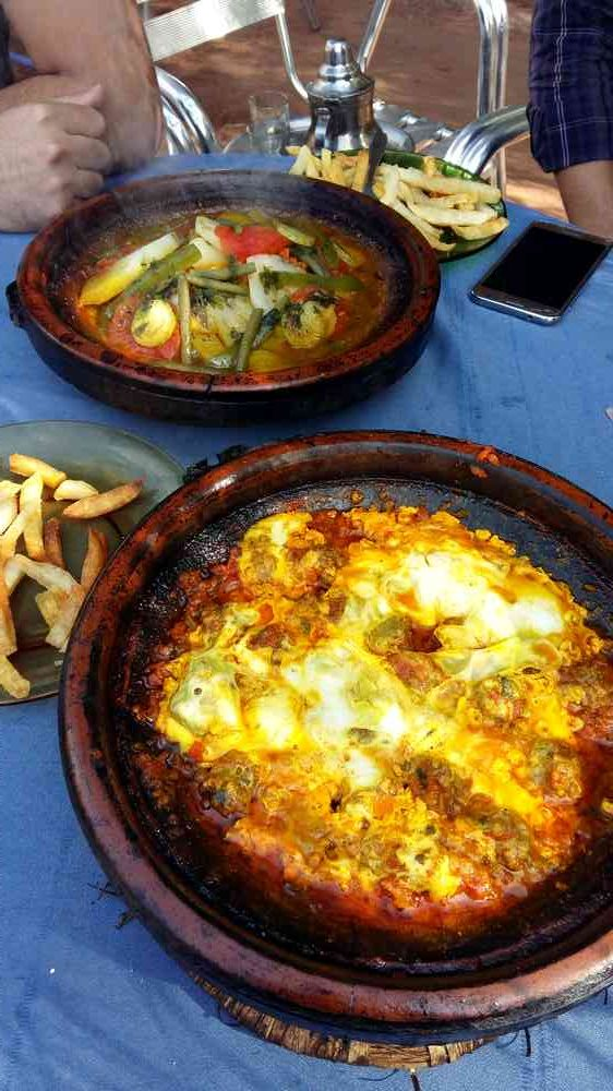 Maroc - Tajines dans la vallée de l'Ourika