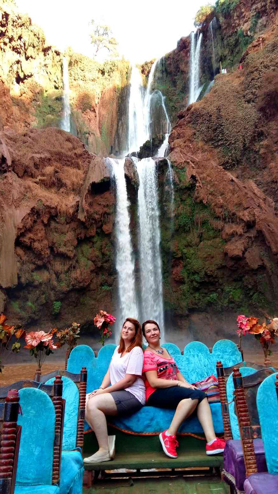 Maroc - Tour en radeau aux cascades d'Ouzoud