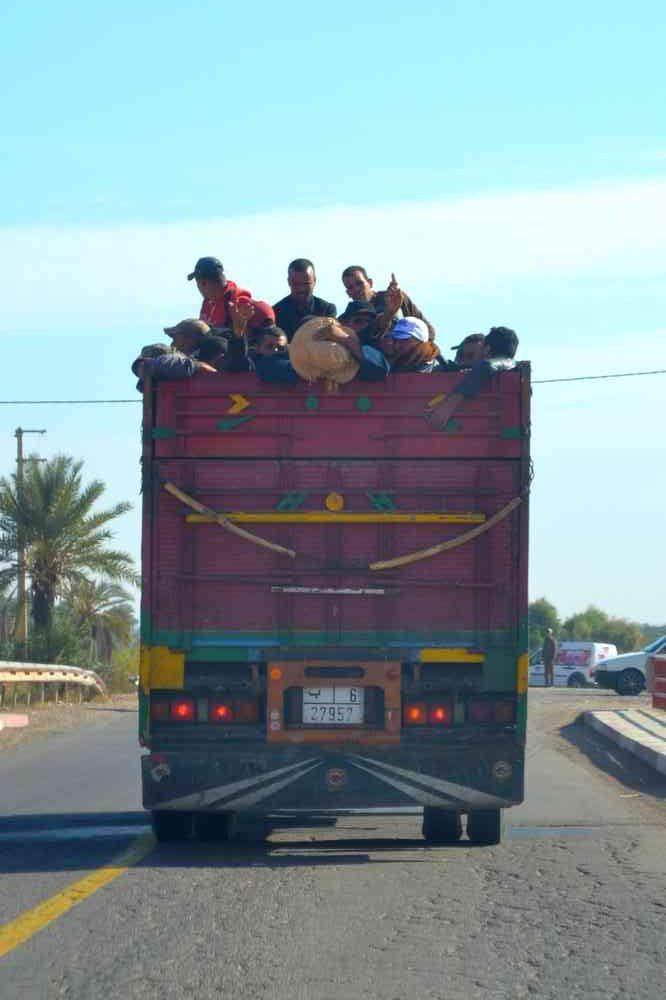 Maroc - Sur la route d'Essaouira