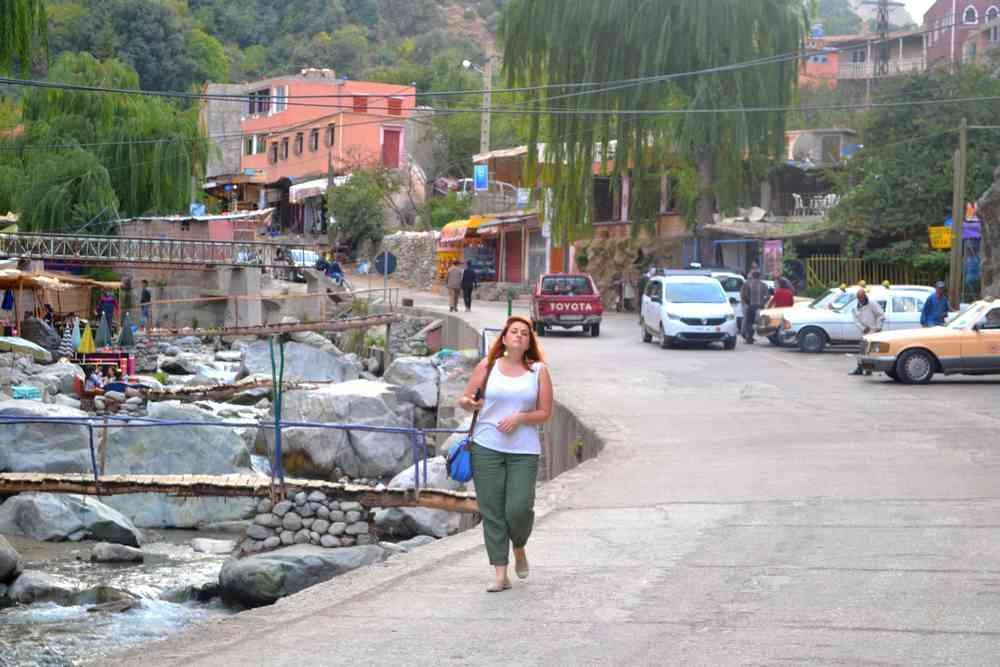 Maroc - Flânerie dans la vallée de l'Ourika