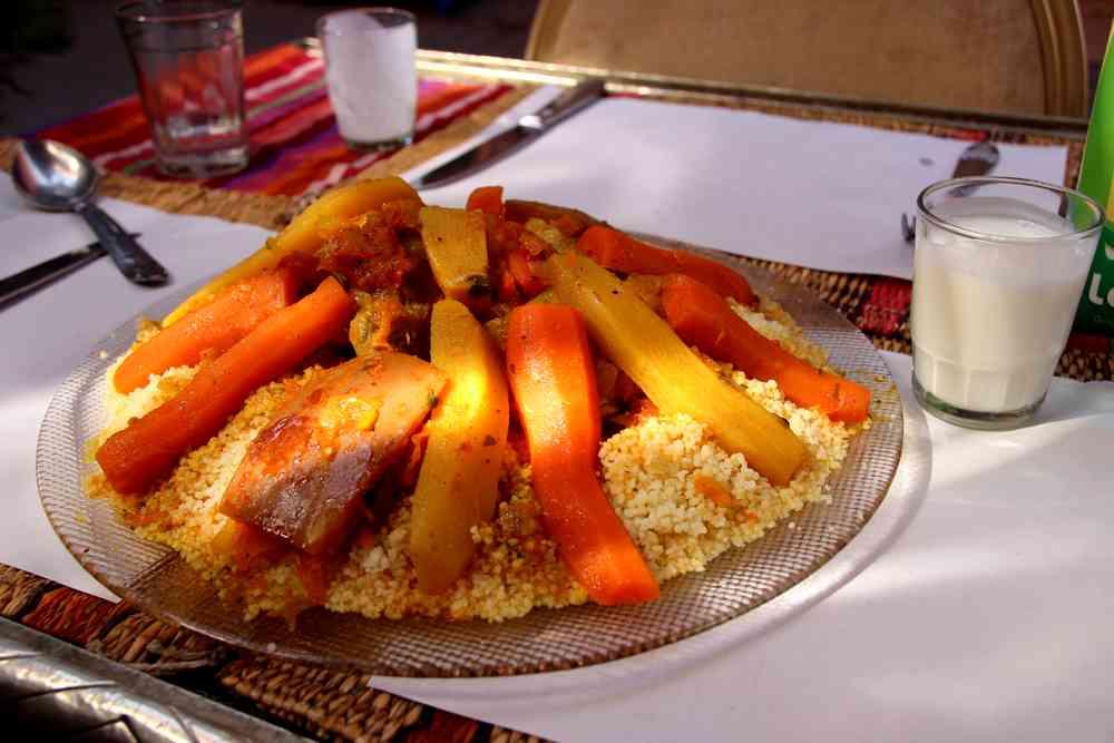 Maroc - Couscous et leben