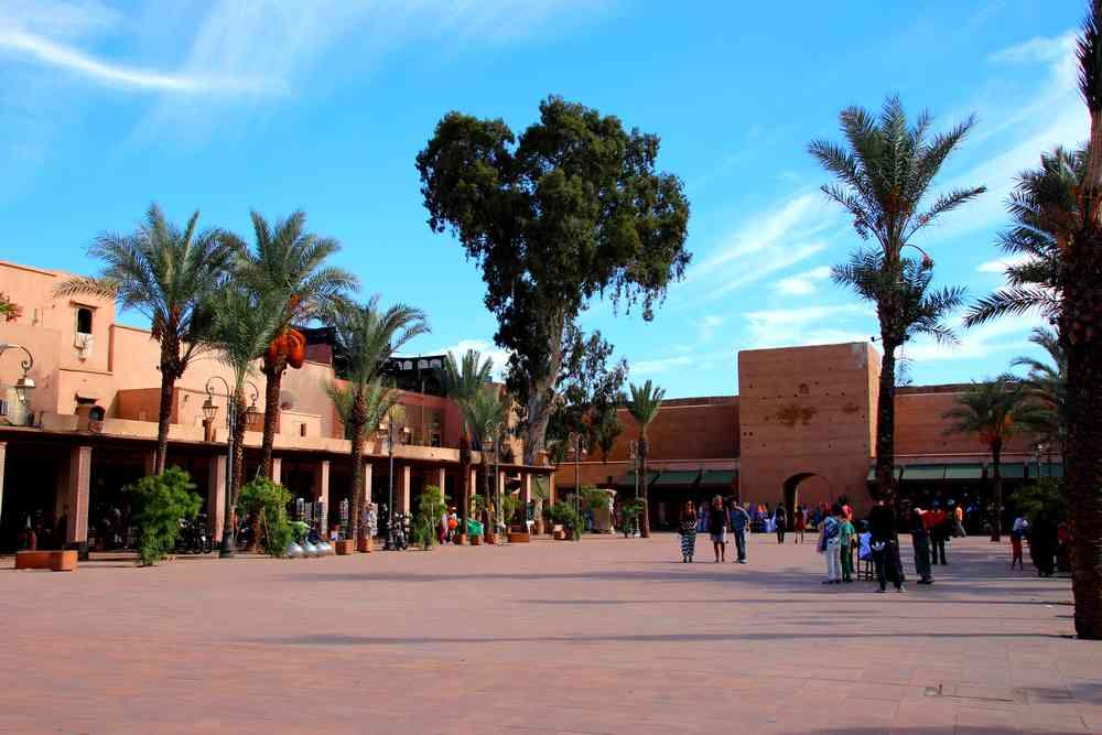 Maroc - Place des ferblantiers à Marrakech