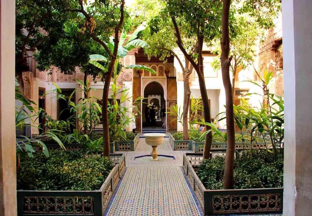 Maroc - Palais Bahia à Marrakech