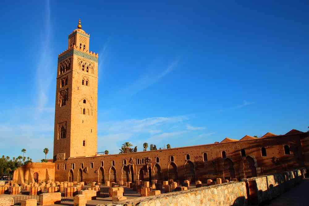 Maroc - Mosquée de la Koutoubia à Marrakech