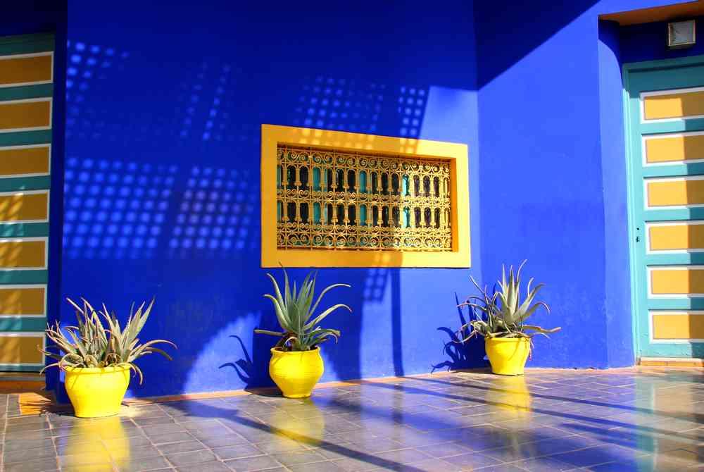 Maroc - Bleu Majorelle