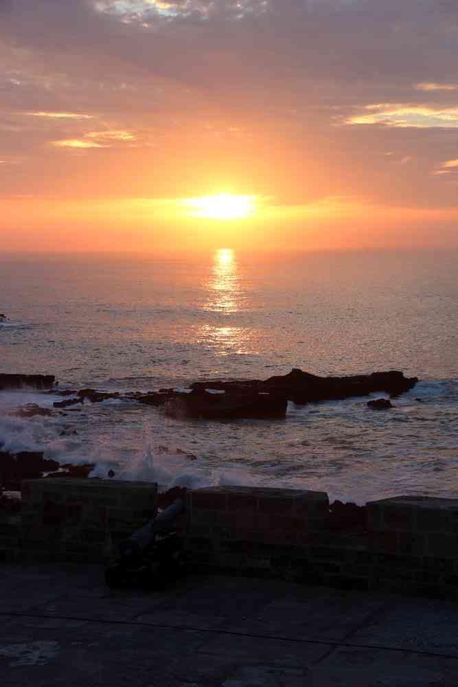 Maroc - Coucher de soleil à Essaouira