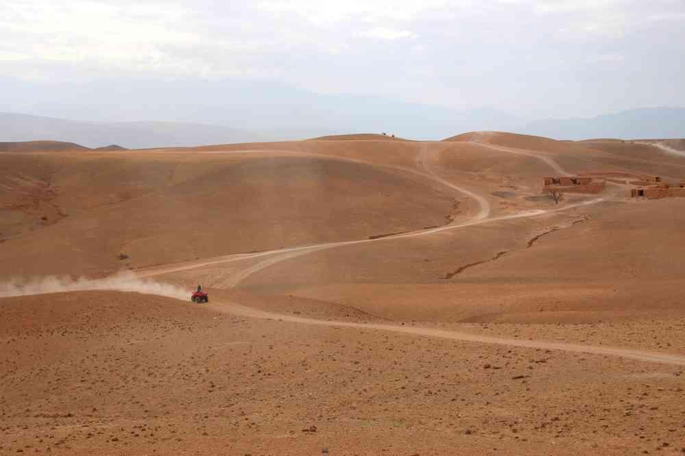 Maroc - Balade en quad dans le désert d'Agafay