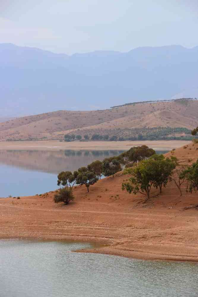 Maroc - Le lac Lalla Takerkoust