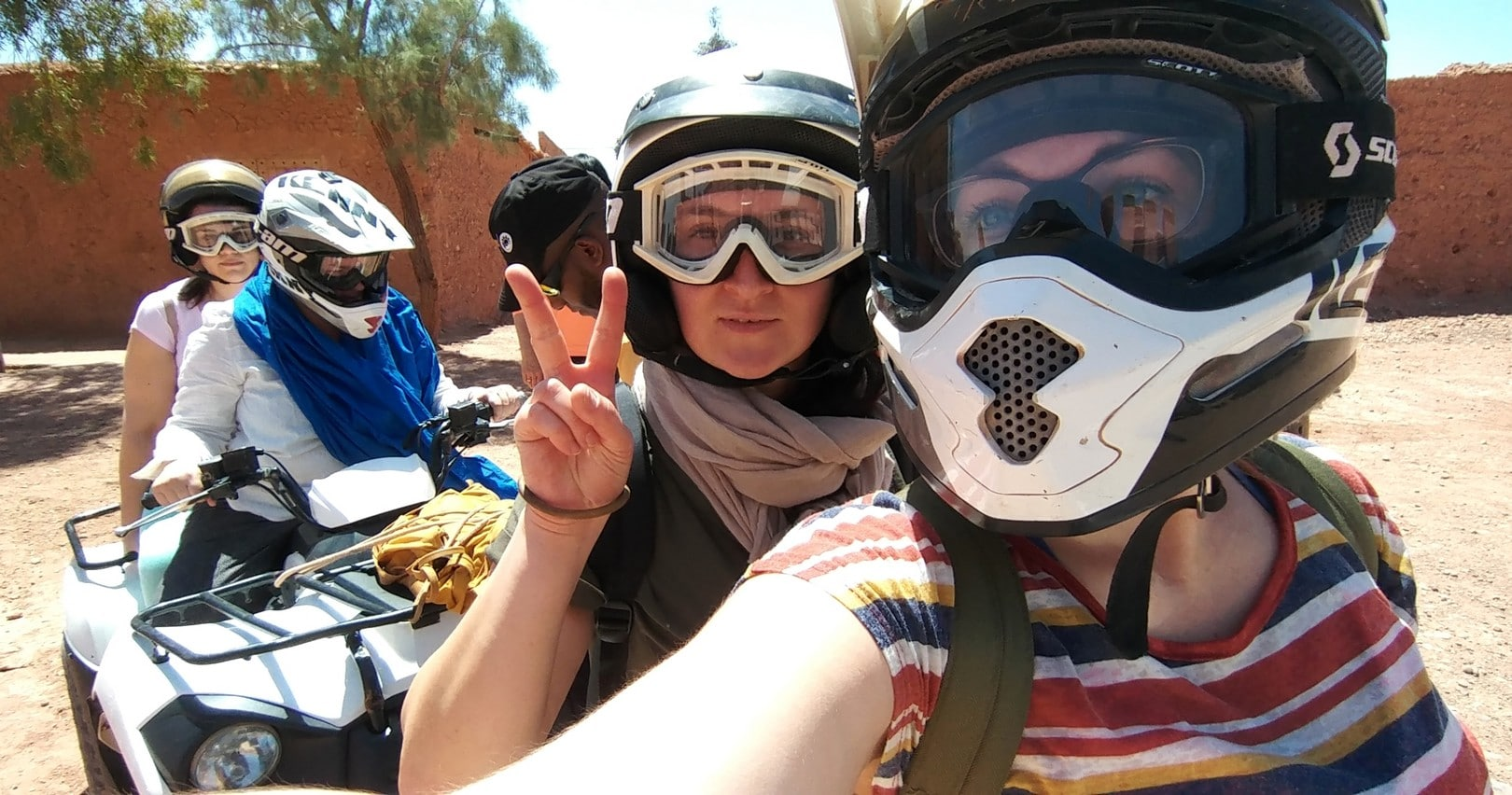 Maroc - Balade en quad entre Ait Ben Haddou et Ouarzazate