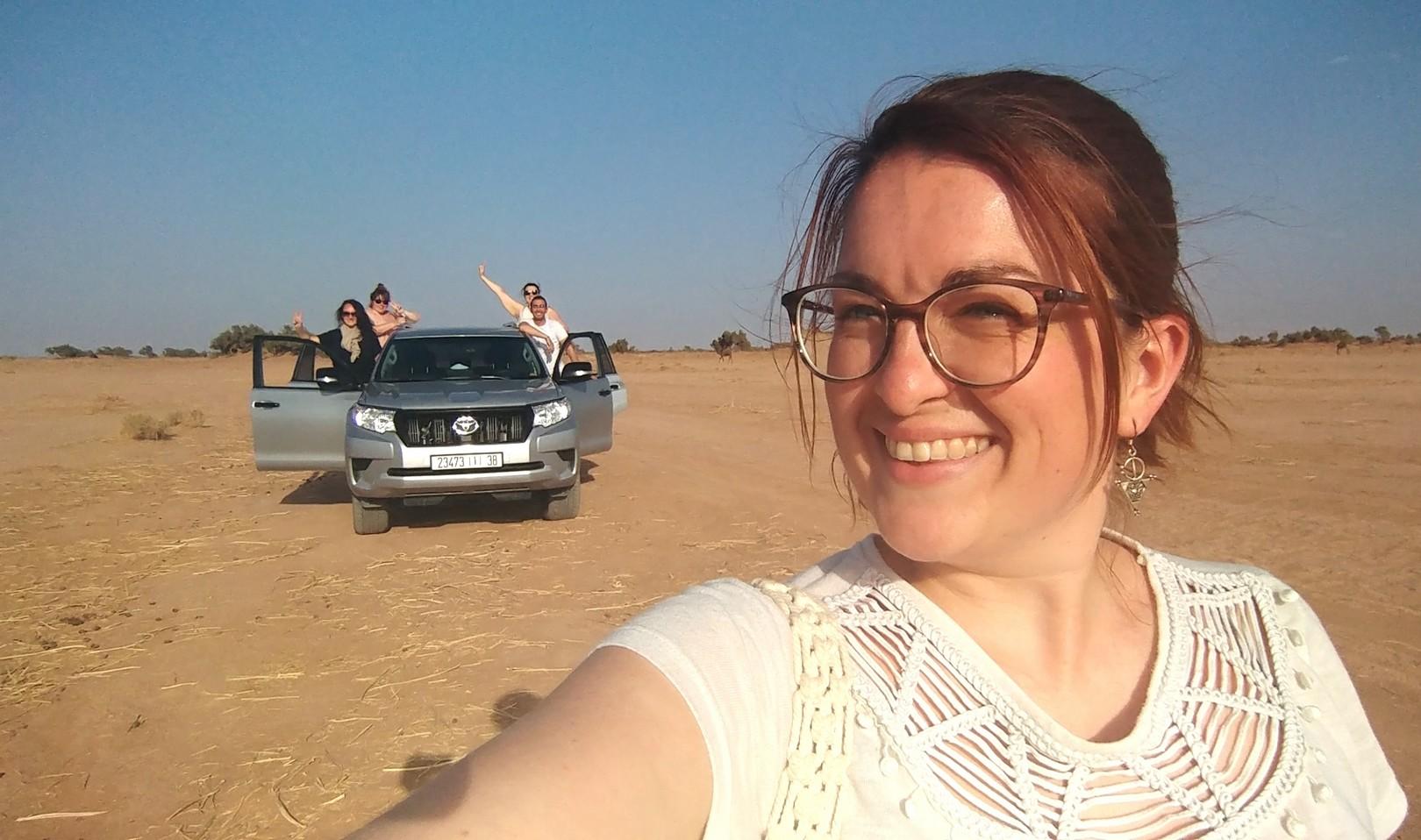 Maroc - Sur la route des dunes de Chegaga