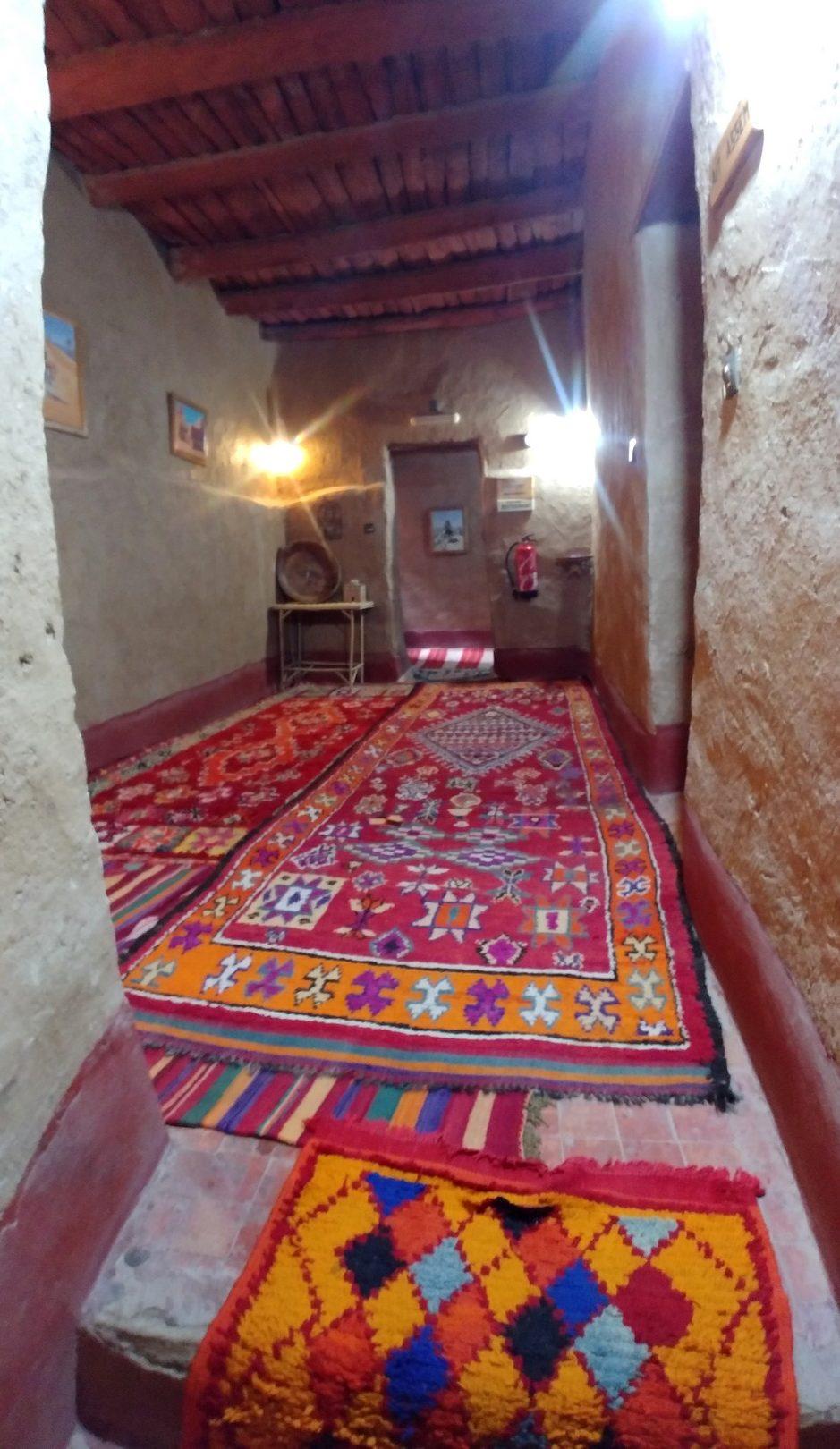 Maroc - Notre guesthouse dans le ksar de Tinejdad
