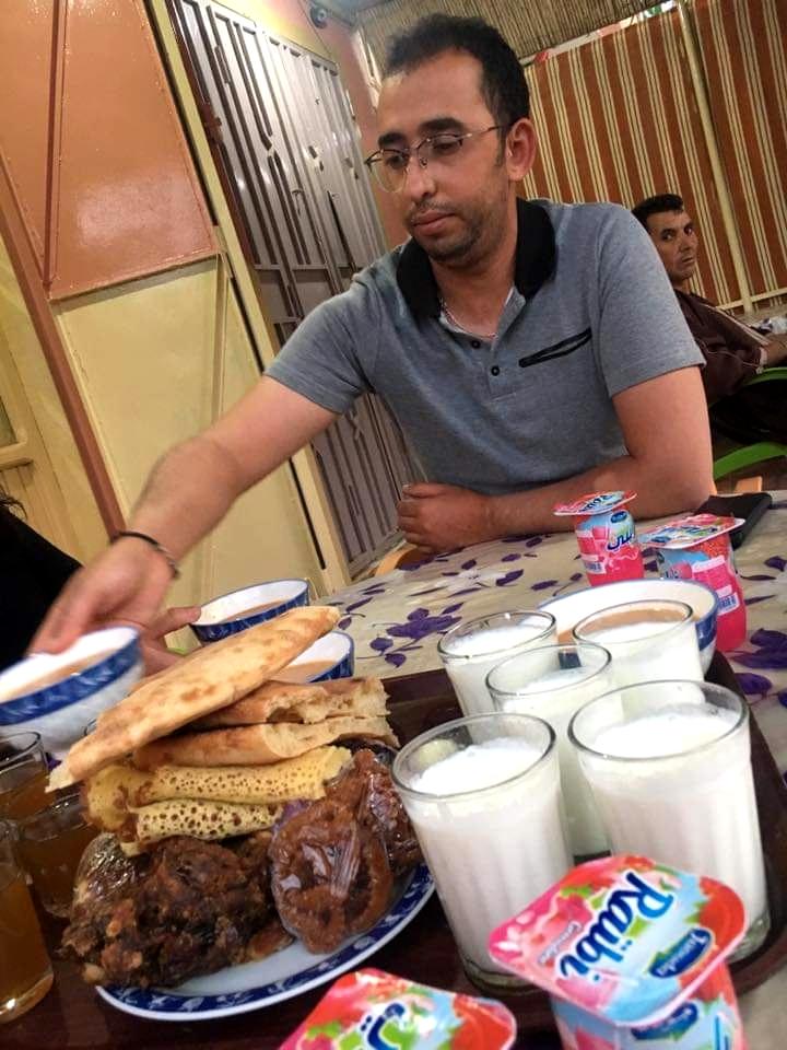 Maroc - Four / repas de rupture du jeûne avec Mohamed