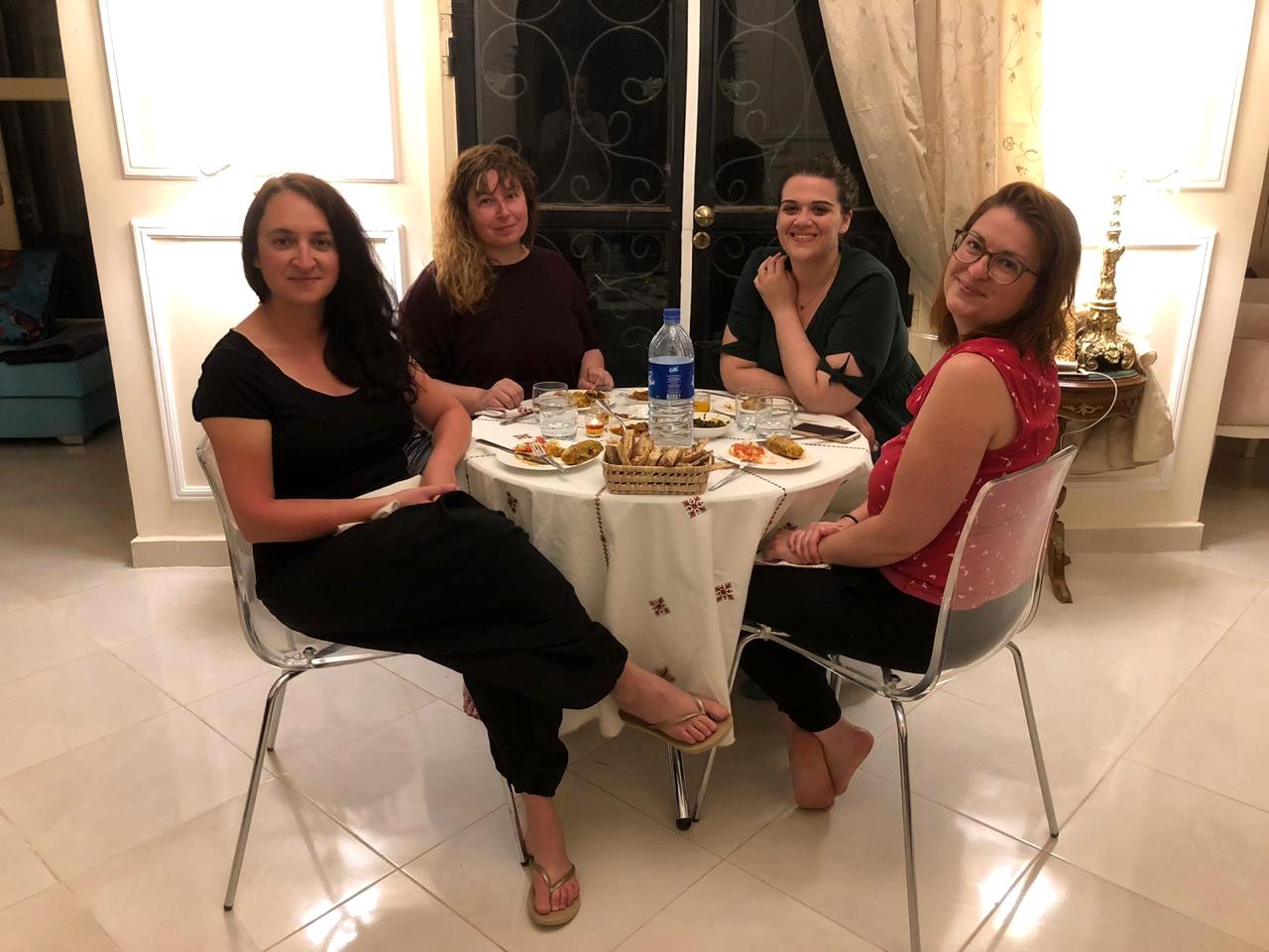 Maroc - Dîner entre filles à la Villa des Anges d'Erfoud