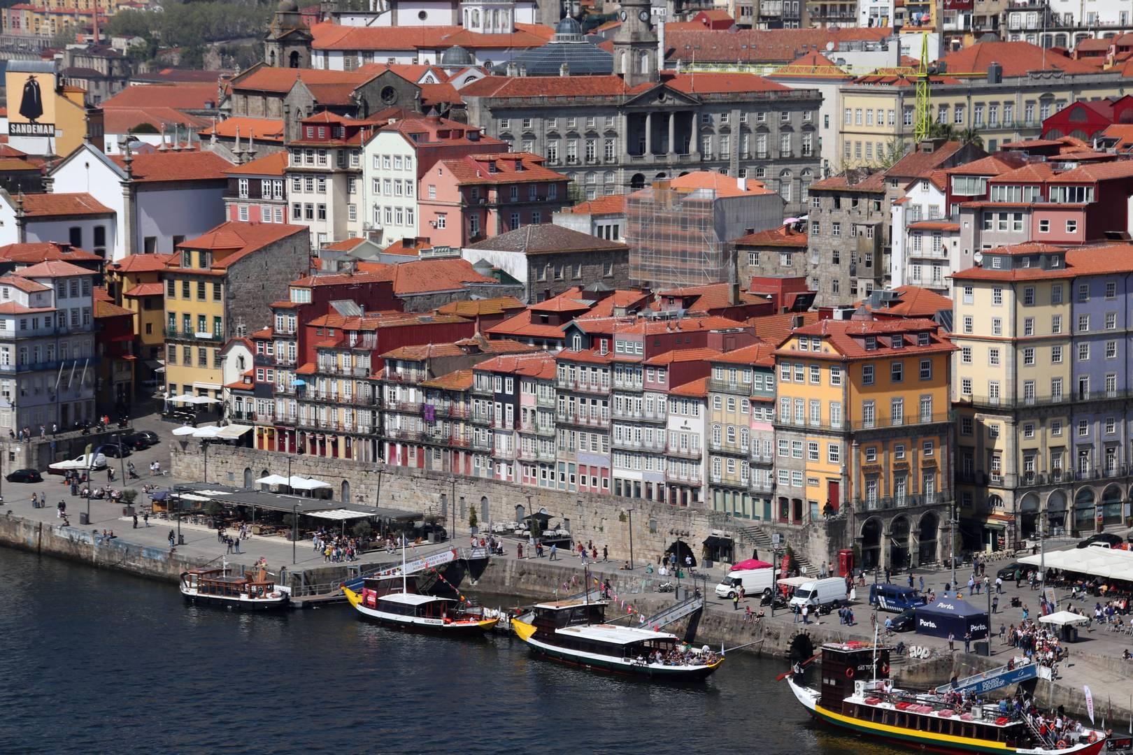 Portugal - La ville de Porto vue de haut