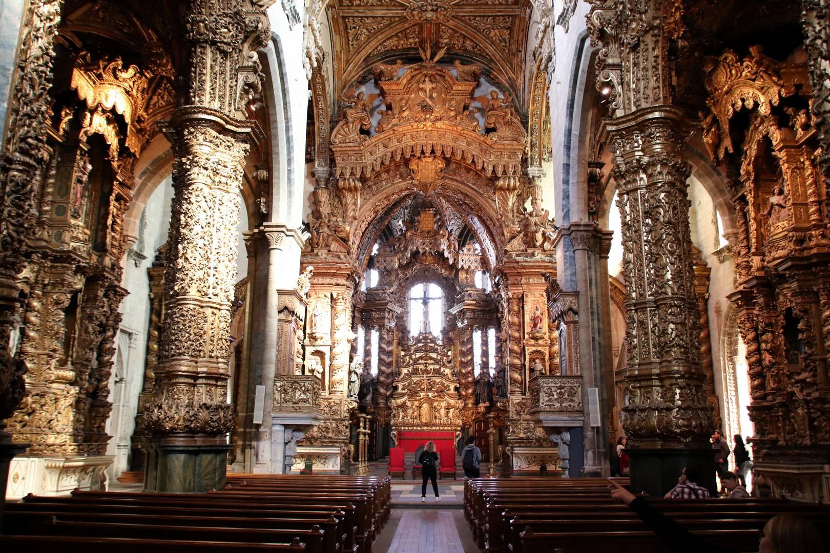 Portugal - Église Sao Francisco à Porto