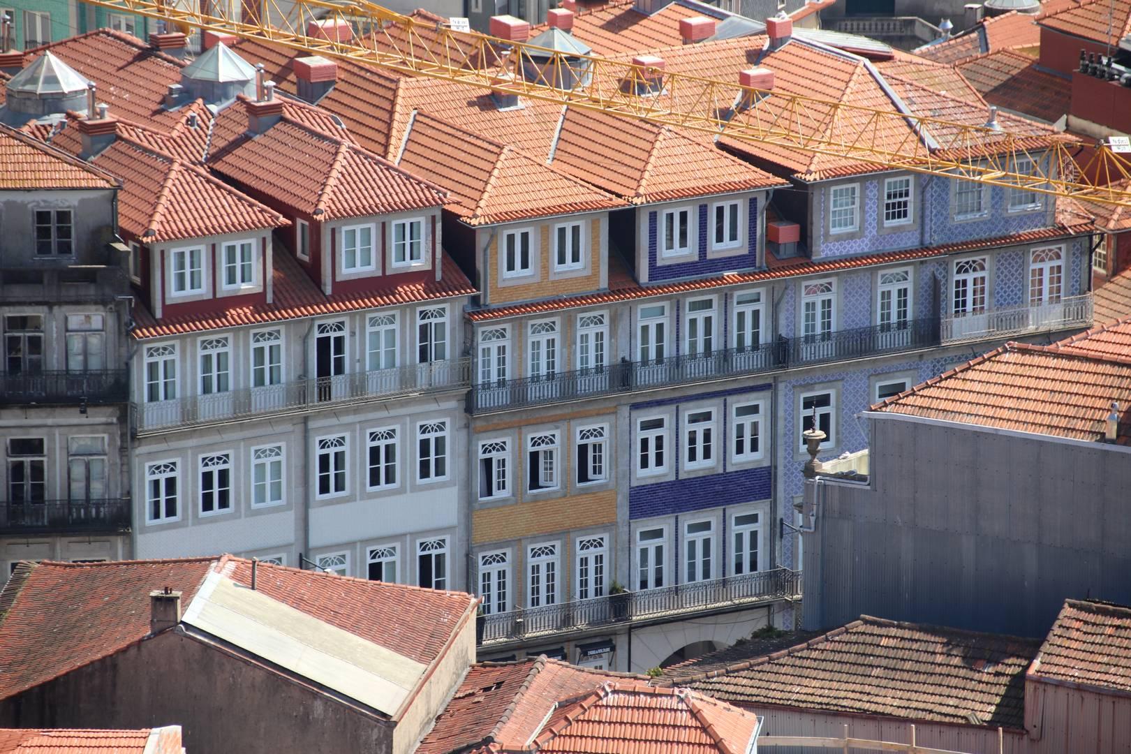 Portugal - Maisons colorées à Porto