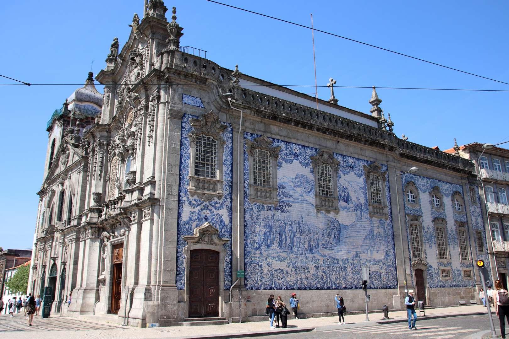 Portugal - Eglise / igrejas das Carmelitas e do Carmo à Porto