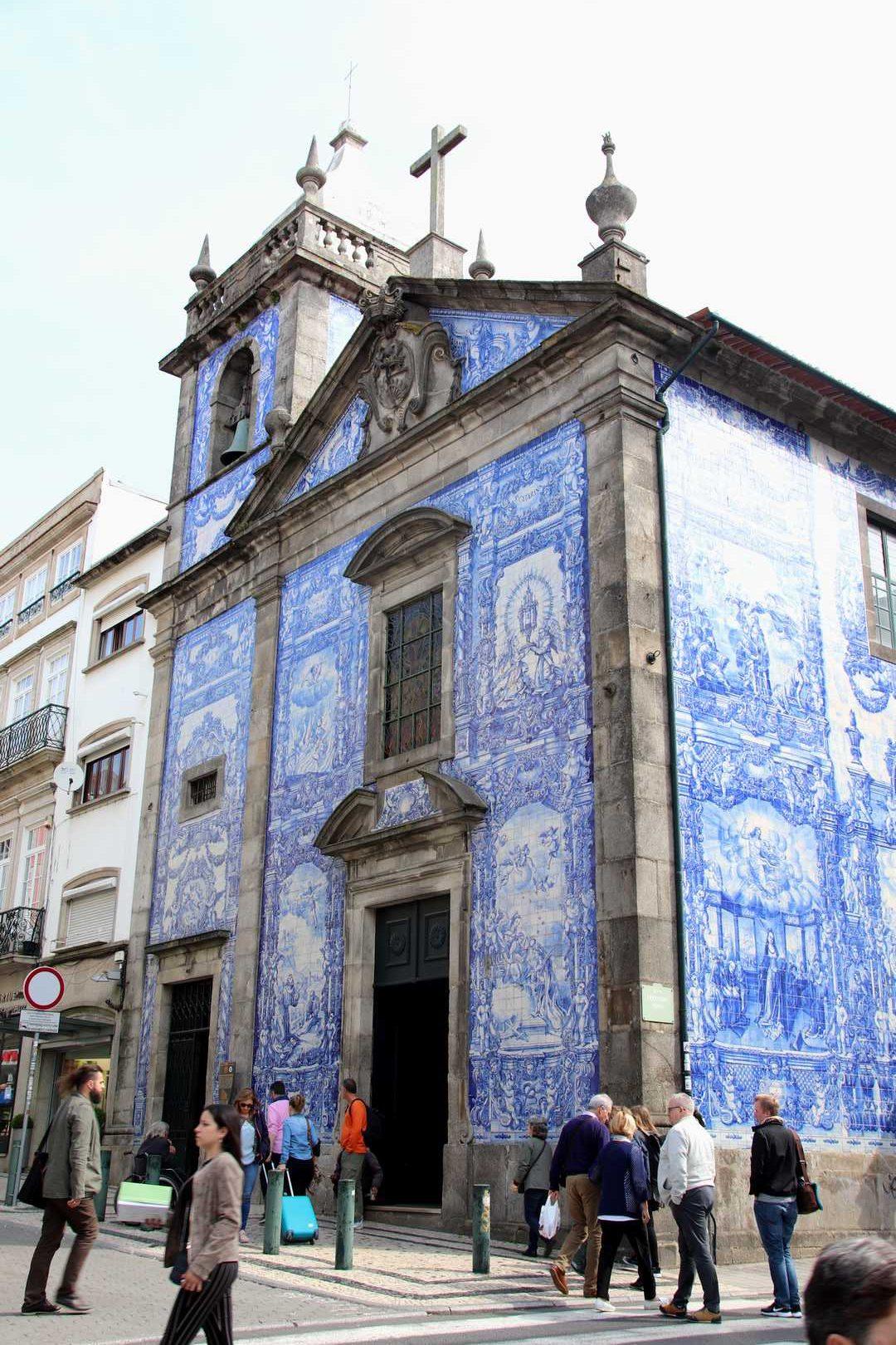 Portugal - Capela das Almas de Santa Catarina à Porto